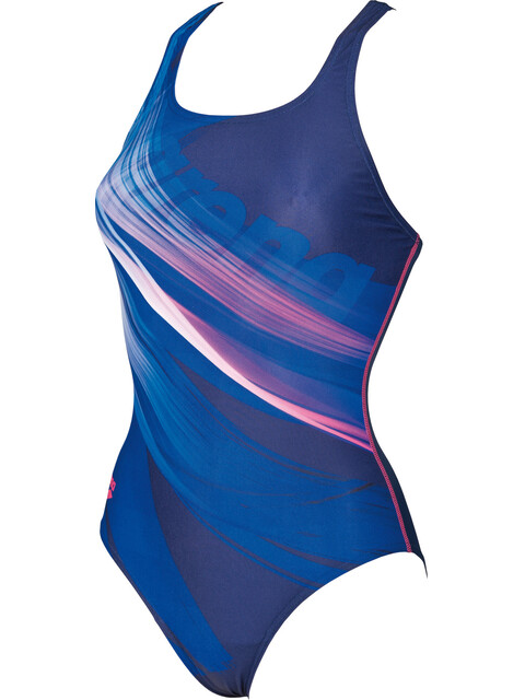 arena Prisma V Back L Swimsuit Women blue